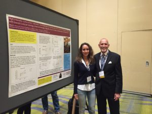 CJF Founder Robert Warren Hess with cancer scientist