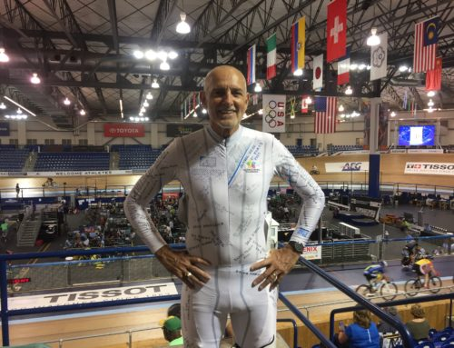A Masters Track Cycling World Championship Ride for Cancer Survivors